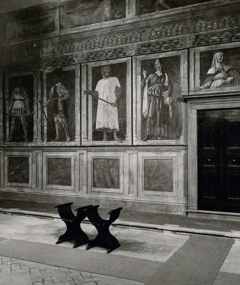 Gli Uomini Illustri di Andrea del Castagno alle Gallerie degli Uffizi. Vicende conservative, collezionistiche e museografiche