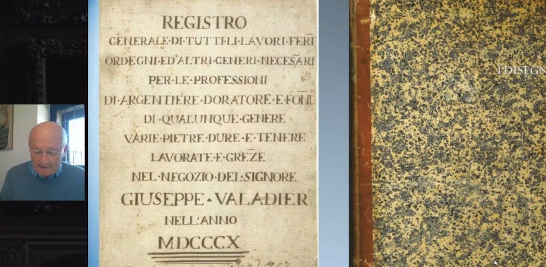 """Gabriele Barucca - Disegni di oreficeria sacra e profana di """"Monsù Luigi Valadier argentiere a San Luigi de' Francesi"""" e di altri artefici del Settecento italiano"""