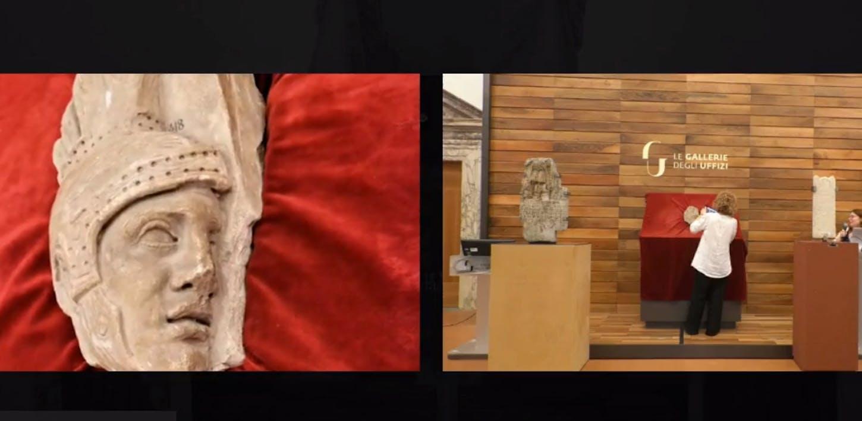 Una nuova acquisizione di arte romana per le Gallerie degli Uffizi