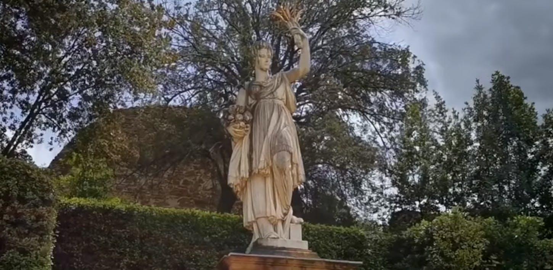 La Statua dell'Abbondanza a Boboli