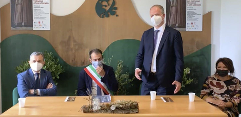 """Inaugurazione della mostra """"Dante e Andrea del Castagno tornano a San Godenzo"""""""