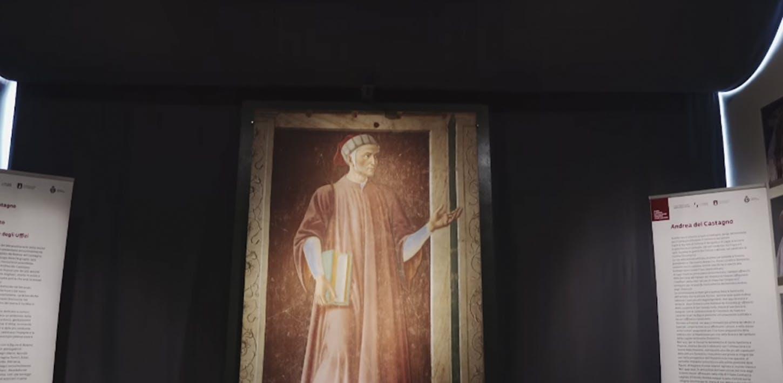 Dante e Andrea del Castagno a San Godenzo