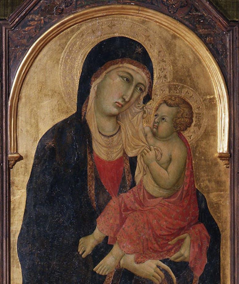 Madonna col Bambino e i santi Paolo e Pietro