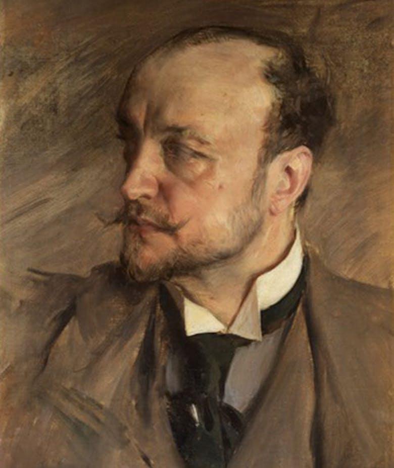 Self-portrait of Montorsoli