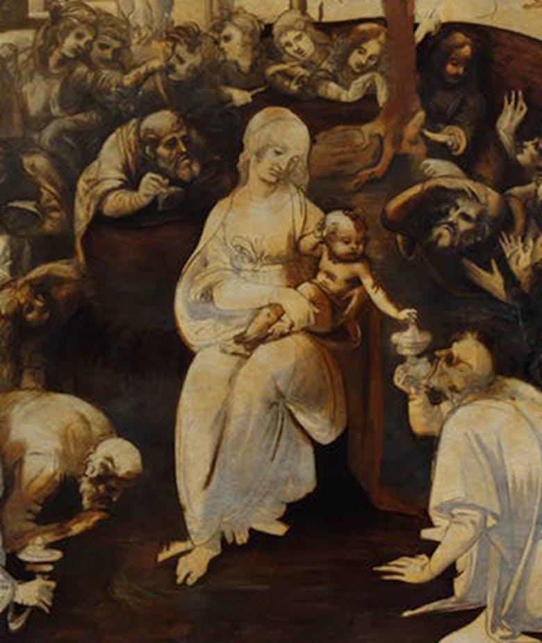Adoration of the Magi San Donato in Scopeto