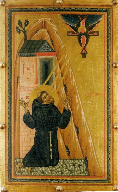 L'ultimo sigillo di San Francesco alla Verna, Galleria degli Uffizi (Firenze) - Chiesa di Sant'Angelo al Cassero (Castiglion Fiorentino), 2 ottobre - 6 gennaio