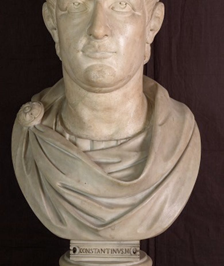 Portrait of Valentinian I or Valens (or Constantine)
