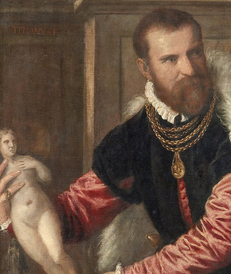 A guest from Vienna. The portrait of Jacopo Strada by Titian