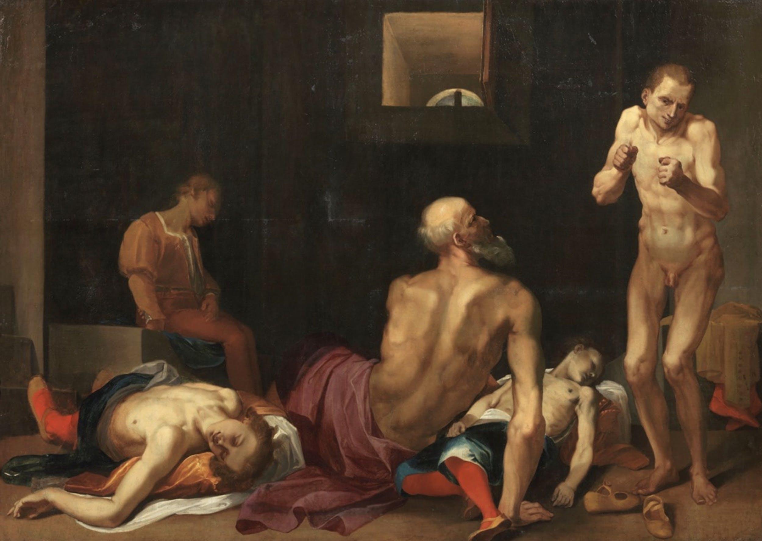 Fra' Arsenio, Conte Ugolino