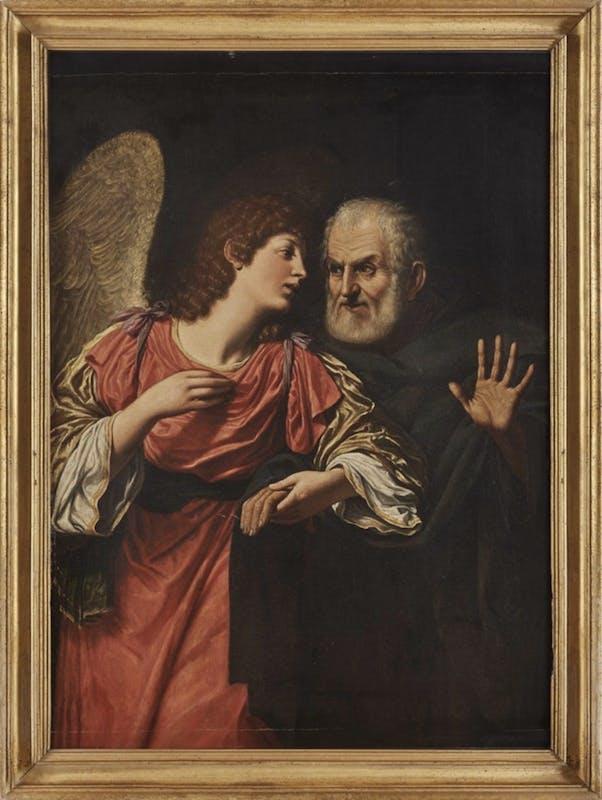 Leonello Spada, San Pietro liberato dal carcere